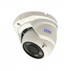 YCC1027AHD: 4MP HD Zoom Focus Varifocal Vandal Proof Dome Camera