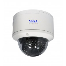 YCC1028AHD: 4.0MP, HD, 2.8-12MM Vandal Dome Camera
