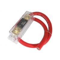 PPA-550: 2FT, 0GA ANL FUSE HOLDER W/FUSE PRE-WIRED