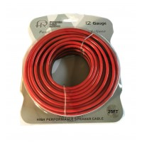 CBLE4112-25: 12GA 25FT Speaker Wire Black & Red