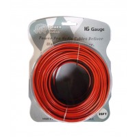 CBLE4116-25: 16GA 25FT Speaker Wire | Black & Red