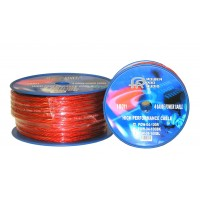 POWAL-04GA: 4GA 100FT Flexible Power Wire, Black,Blue&Red
