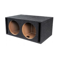 "PPA-12DVP: 12"" Double Ported Subwoofer Empty Box"