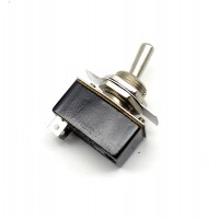 SW1011: TOGGLE SWITCH 2 PIN SPST ON/OFF INCLUDED PLATE