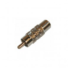 VC1020: RCA Male to F Female Video Connector