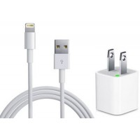 PH-1106I5: 2 in 1 iPhone 5/5S/6/6 Plus Charger Kit