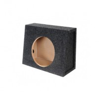 "PPA-10EMT: 10"" Single Extra Slim Truck Subwoofer Empty Box"