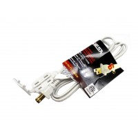 CA1029-06:  6FT, 3 Outlet Household Extension Cords