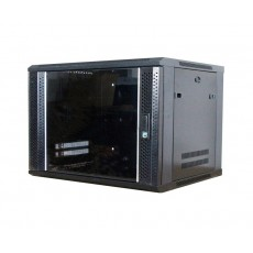 CAT100-06UBK: 6U Wall Mountable Cabinet Office Networking Rack