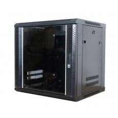 CAT100-09UBK: 9U Wall Mountable Cabinet Office Networking Rack