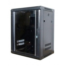 CAT100-12UBK: 12U Wall Mountable Cabinet Office Networking Rack