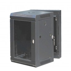 CAT100UD-12UBK: 12U Rear-Hinged Wall Mountable Cabinet  Networki