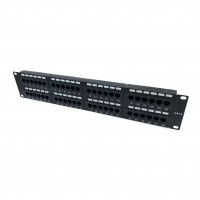CAT48-6: 48-Port 2U Rack Mountable Patch Panel for CAT6
