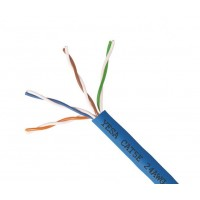 CAT5EA-1000: SOLID 24AWG x 4C UTP CABLE 1000FT,5 colours