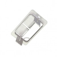 CAT-701: Single Gang Low Voltage Mounting Bracket Clip On Style