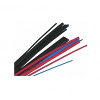 "HS1008: 1/16"" 4FT Heat Shrink Tubing Wire Wrap, Black"