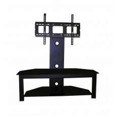PPA-040: 55'' To 70'' 2 Glass Shelves Floor Stand for TVs