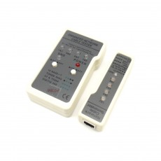 CAT-803: Networking Cable Tester for RJ45|RJ11|Modular|Coaxial