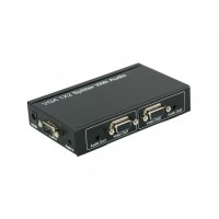 PRO2097-2: 2 Way VGA Splitter With Audio