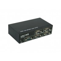 PRO2097-4: 4 Way VGA Splitter With Audio